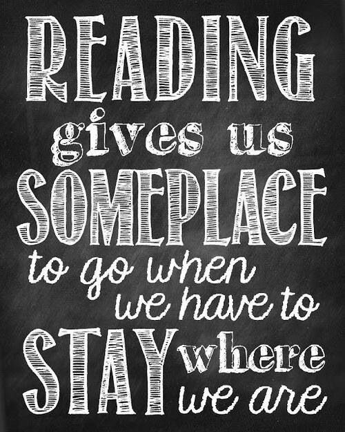 reading takes us places